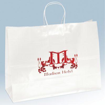 Aubrie Gloss Shopper Bag (Colored)