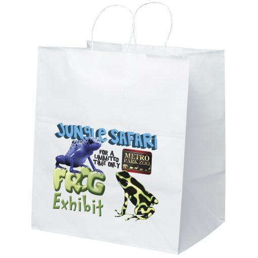 Brute White Shoppers Bag (ColorVista)