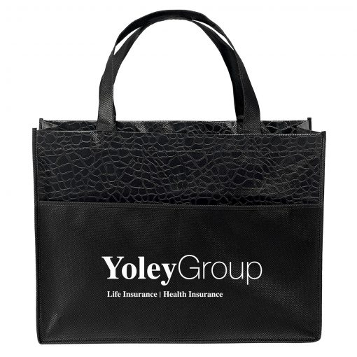 Couture™ Gloss-Laminated Tote Bag (Screen Print)