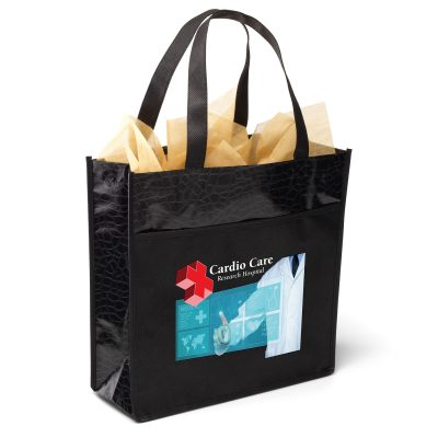 Debonaire™ Gloss-Laminated Tote Bag (ColorVista)