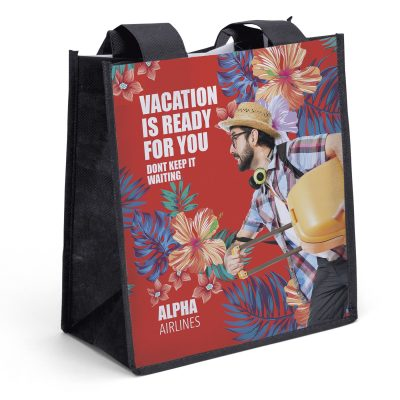 Degas PET Non-Woven Tote Bag (Sublimation)