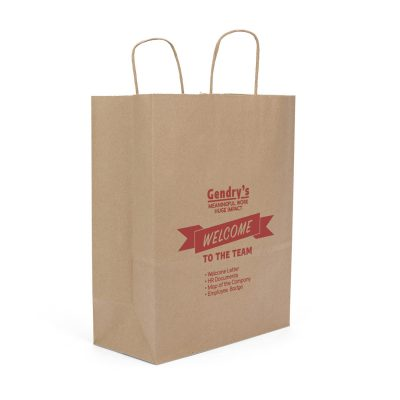 Eco Fort Sealable Paper Shopper Bag