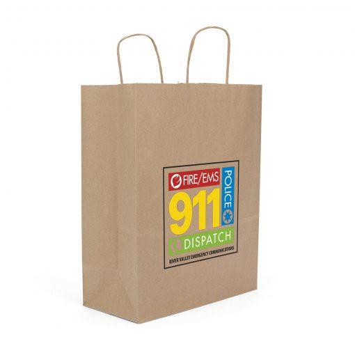 Eco Fort Sealable Paper Shopper Bag (ColorVista)