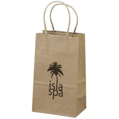 Eco Pup Kraft-Brown Shoppers Bag (Flex Ink)