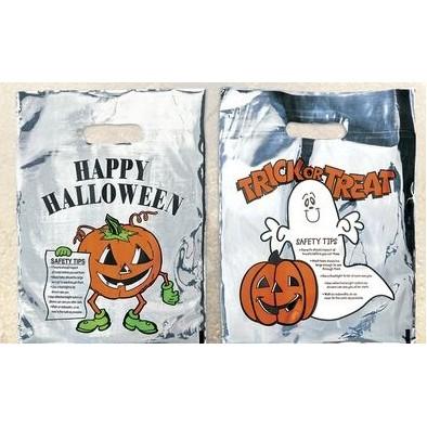 Pumpkin Sliver Reflective Halloween Bag