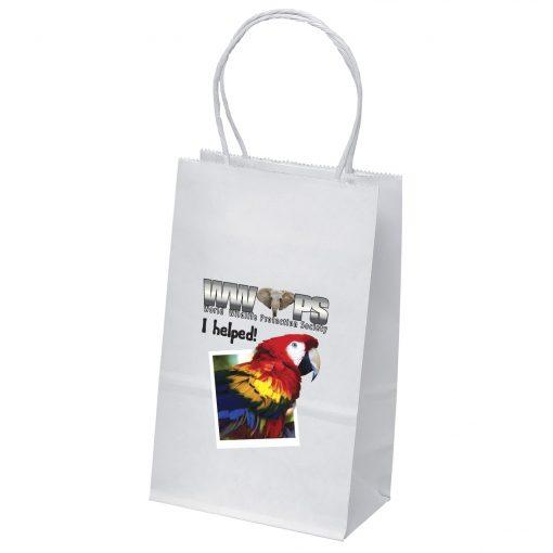 Pup White Shoppers Bag (ColorVista)
