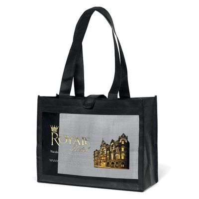 Royale Mesh Panel Tote Bag (ColorVista)