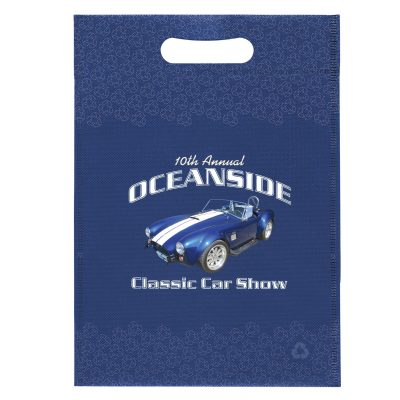 Small Non-Woven Die Cut Handle Bag (ColorVista)