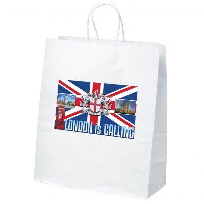 Citation White Shoppers Bag (ColorVista)