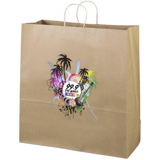 Eco Duke Kraft-Brown Shoppers Bag (ColorVista)