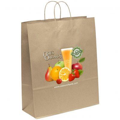 Eco Stephanie Kraft-Brown Shoppers Bag (ColorVista)