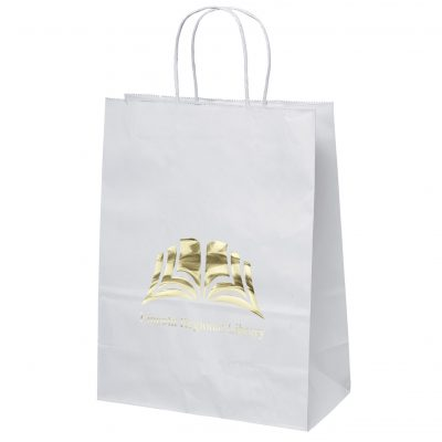 Jenny White Shoppers Bag (Foil)