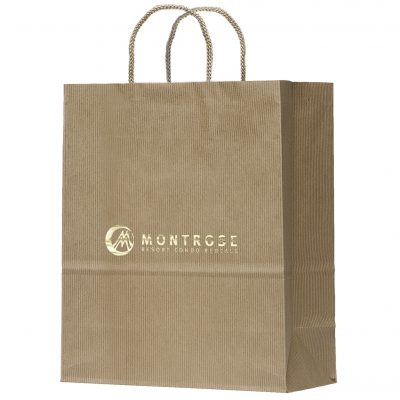 Manhattan Uptown Shoppers Bag (Foil)