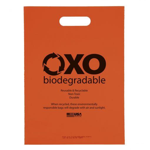 "Oxo-Biodegradable Die Cut Bag (11""x15"")"