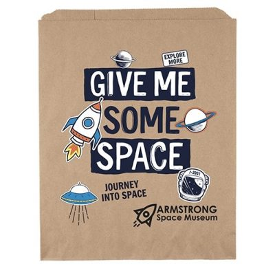 "11""x13 3/4"" Merchandise Bag (ColorVista)"
