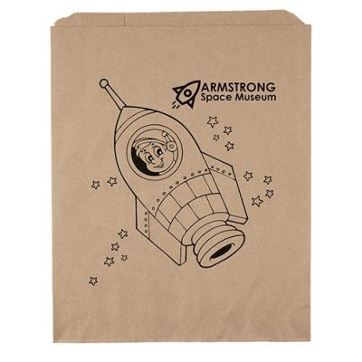 "11""x13 3/4"" Merchandise Bag (Flexo Ink)"