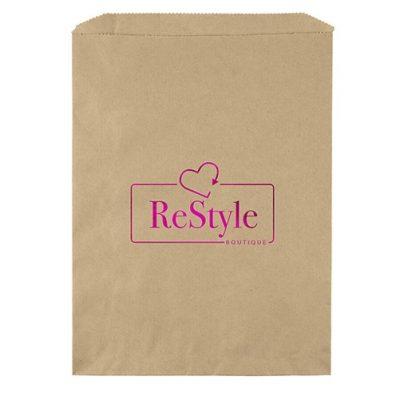 """9""""x12"""" Merchandise Bag (Foil Print)"""