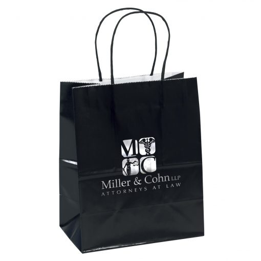 Amanda™ Gloss Shopper Bag (Colored)