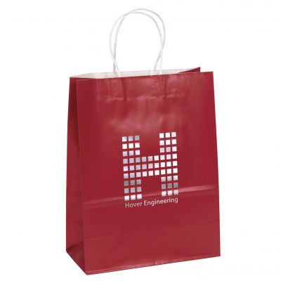 Amber™ Gloss Shopper Bag (Colored)