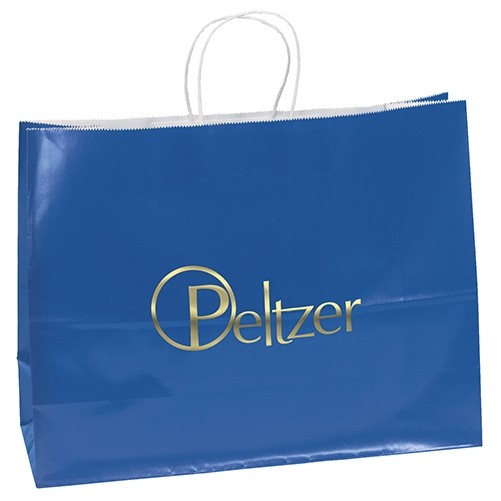 Aubrie™ Gloss Shopper Bag (Colored)