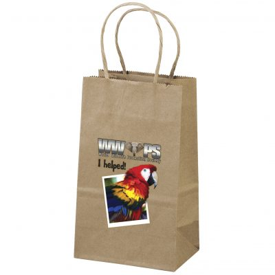 Eco Pup Kraft-Brown Shopper Bag (ColorVista)