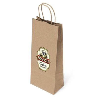 Eco Vino Kraft-Brown Shopper Bag (ColorVista)