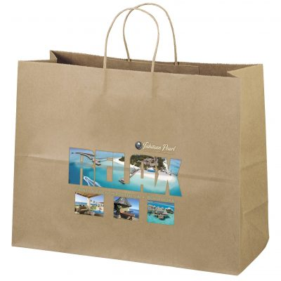 Eco Vogue Kraft-Brown Shopper Bag (ColorVista)