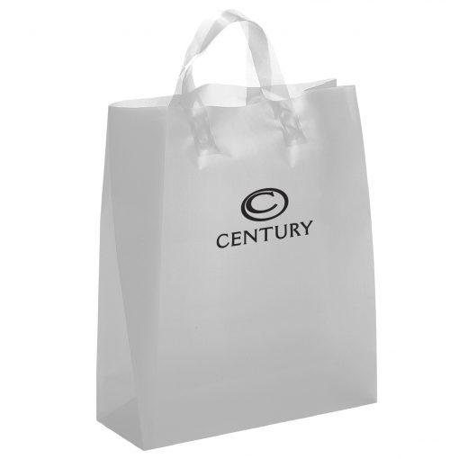 Iris Frosted Brite Shopper Bag (Flex Ink)