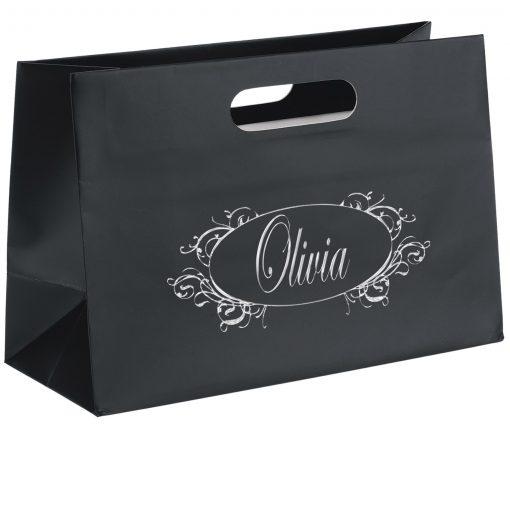 Olivia™ Boutique Die Cut Handle Tote Bag