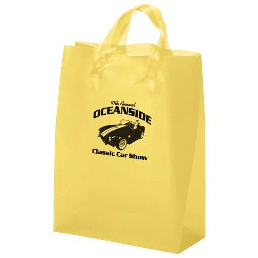 Tulip Frosted Brite Shopper Bag (Flex Ink)