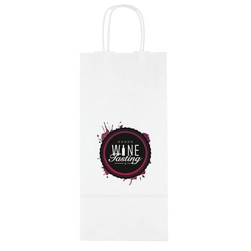 Vino White Shopper Bag (ColorVista)