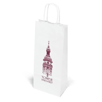 Vino White Shopper Bag (Flexo Ink)