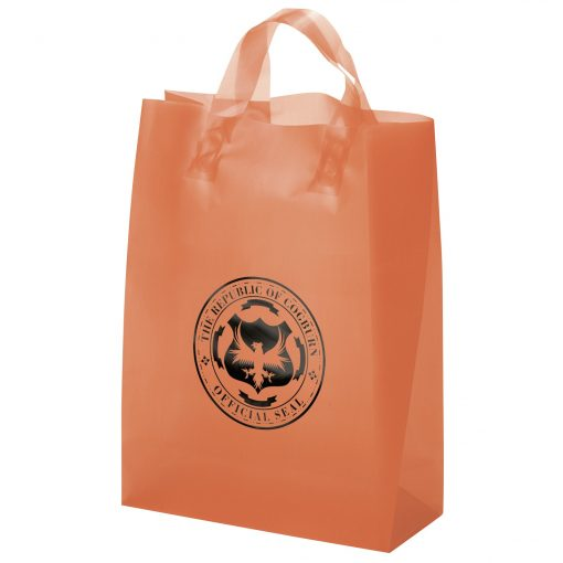 Zeus Frosted Brite Shopper Bag (Foil)