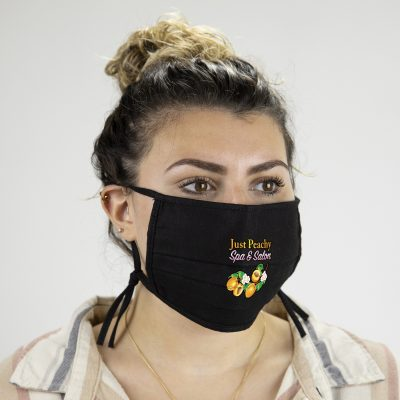 Black 2-PLY Cotton Mask (ColorVista)