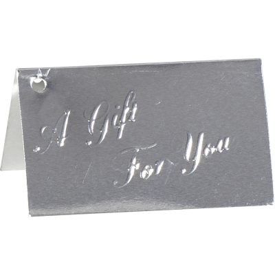 A Gift For You Embossed Card