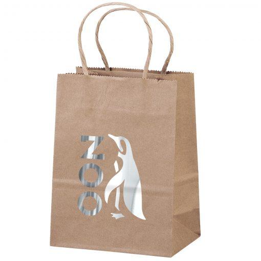 Eco Pup Kraft-Brown Shopper Bag (Brilliance- Matte Finish)
