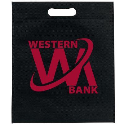 Large Non-Woven Die Cut Handle Bag (Brilliance-Matte Finish)